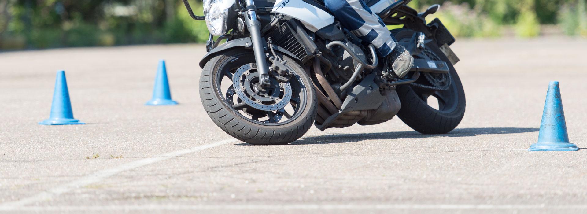 Motorrijbewijspoint Flevoland rijtest